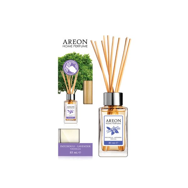 Difusor-85Ml-AREON-Home-Stick-Patchouli-Lavender-Vainilla