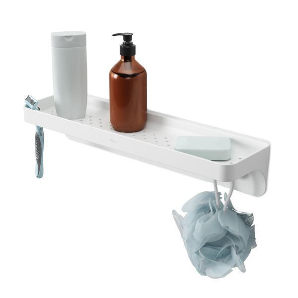 Organizador-Ducha-Estante-Flex-Blanco
