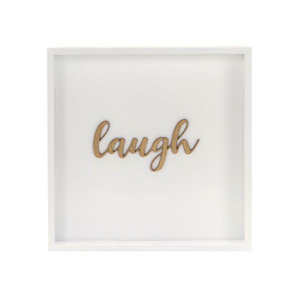 Cuadro-Laugh-28-28-Cm-Blanco