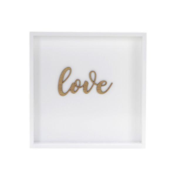 Cuadro-Love-28-28-Cm-Blanco