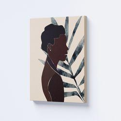 Cuadro-Decorativo-Etnia-II-60-45-2Cm-Canvas-Colores-Varios