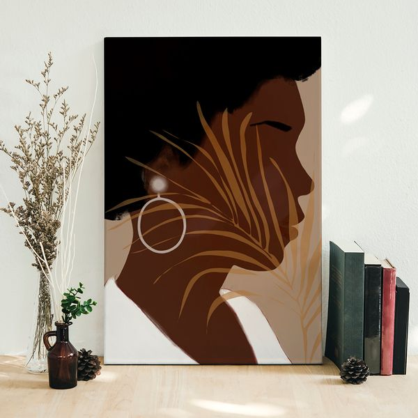 Cuadro-Decorativo-Etnia-III-60-45-2Cm-Canvas-Colores-Varios