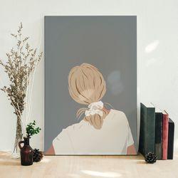 Cuadro-Decorativo-Silhou-I-60-45-2Cm-Canvas-Colores-Varios