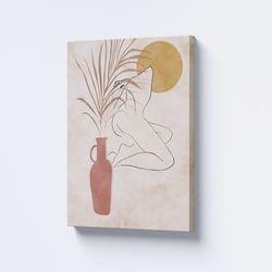 Cuadro-Decorativo-Silhou-II-60-45-2Cm-Canvas-Colores-Varios