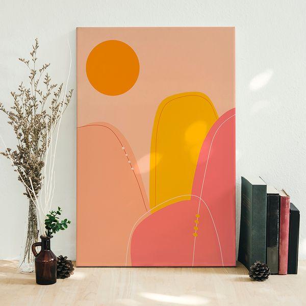 Cuadro-Decorativo-Landscape-IV-60-45-2Cm-Canvas-Colores-Varios