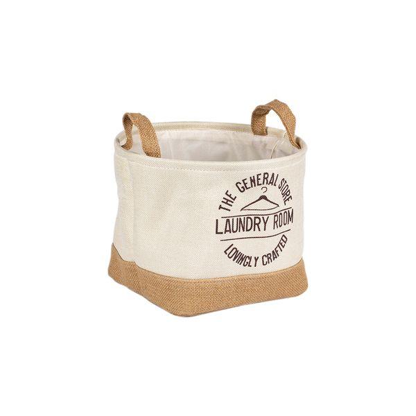 Canasta-Benetti-Laundry-29-29-22Cm-Beige