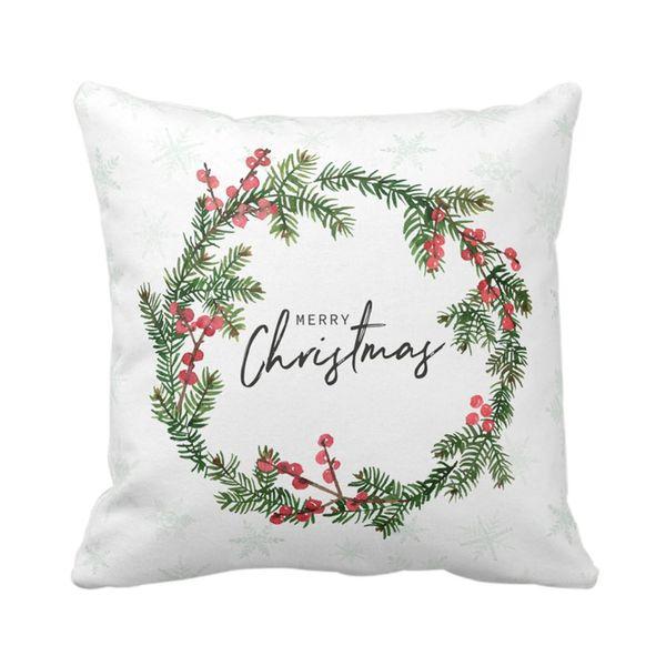 Navidad-C20-Funda-Cojin-Xmas-Wreath-45-45Cm--Varios