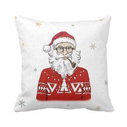 Navidad-C20-Funda-Cojin-Bohemian-Santa-45-45Cm--Varios