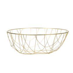 Frutero-Linen-M-32-12Cm-Metal-Dorado------------------------