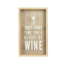 Porta-Corchos-Time-For-Wine-21-5-35Cm-Mdf-Natural-----------