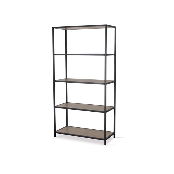Biblioteca-New-Seaford-4-77-35-150-Cm-Mdf-Natural-Negro-----