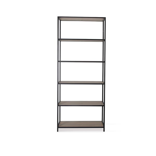 Biblioteca-New-Seaford-5-77-35-185-Cm-Mdf-Natural-Negro-----