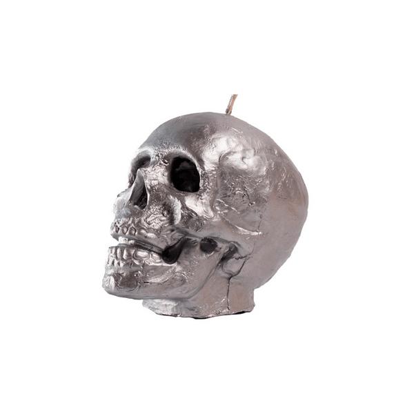 Vela-Decorativa-Big-Skull-Plata-Sin-Aroma