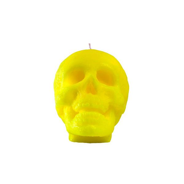 Vela-Decorativa-Big-Skull-Verde-Sin-Aroma