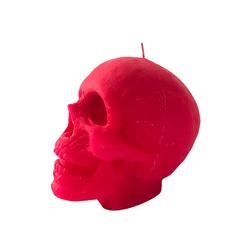 Vela-Decorativa-Big-Skull-Fucsia-Sin-Aroma