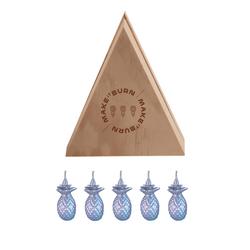 Set-5-Velas-Decorativas-Mini-Piña-Plata-Sin-Aroma