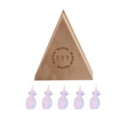 Set-5-Velas-Decorativas-Mini-Piña-Blanco-Sin-Aroma