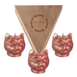 Set-3-Velas-Decorativas-Mini-Cat-Bronce-Sin-Aroma