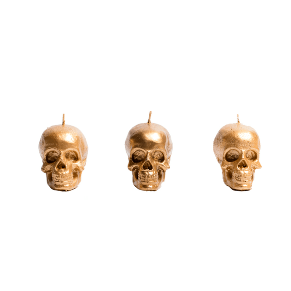 Set-3-Velas-Decorativas-Mini-Skull-Dorado-Sin-Aroma