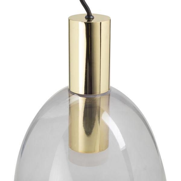 Lampara-De-Techo-Fragil-Cristal-Trasparente-Dorado