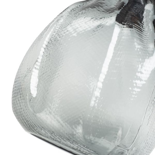 Lampara-De-Techo-Fragil-Cristal-Negro