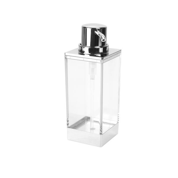 Dispensador-Jabon-Clarity-Cromo