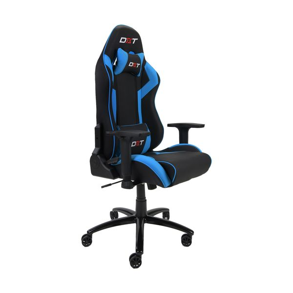 Silla-Giratoria-Gamer-Dxt-Thor-Azul-Negro