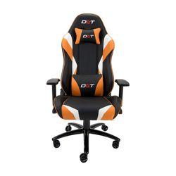 Silla-Giratoria-Gamer-Dxt-Zeus-Naranja