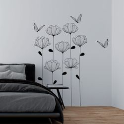 Vinilo-Decorativo-Floral-150-100Cm