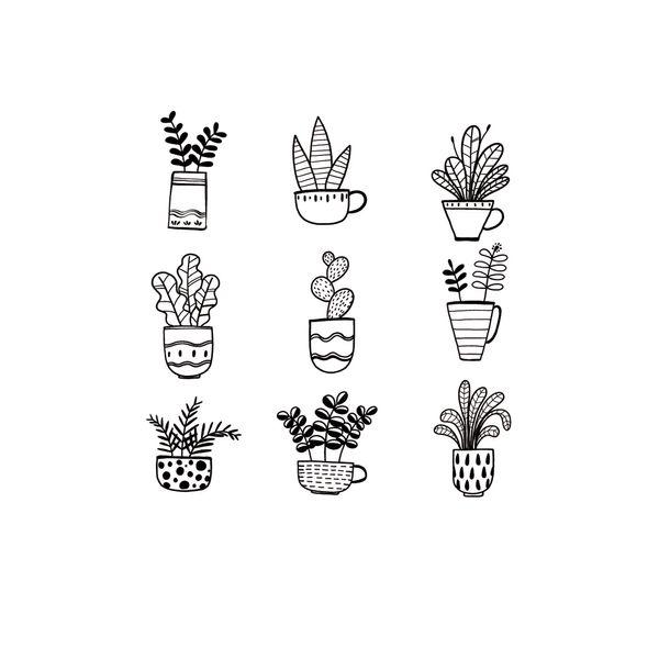 Vinilo-Decorativo-Mini-Plants-20-110Cm