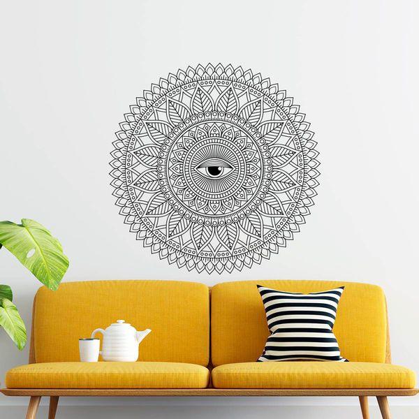 Vinilo-Decorativo-Mandala-Ojo-100-100Cm