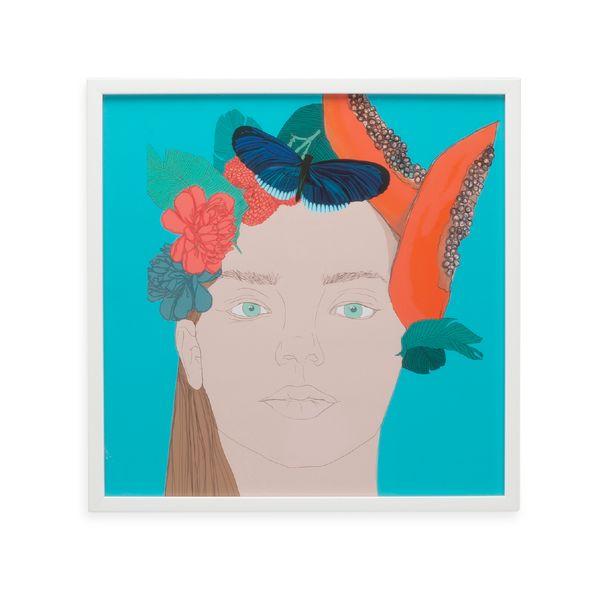 Cuadro-Artistico-Mujer-Papaya-40-40Cm