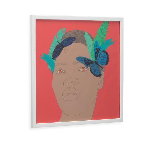 Cuadro-Artistico-Mujer-Hojas-40-40Cm
