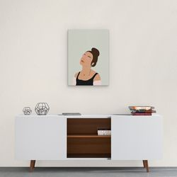 Cuadro-Decorativo-Silhou-VI-60-45-2Cm-Canvas