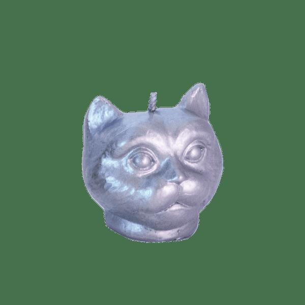 Vela-Decorativa-Mini-Cat-Plata-Sin-Aroma