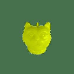 Vela-Decorativa-Mini-Cat-Verde-Sin-Aroma