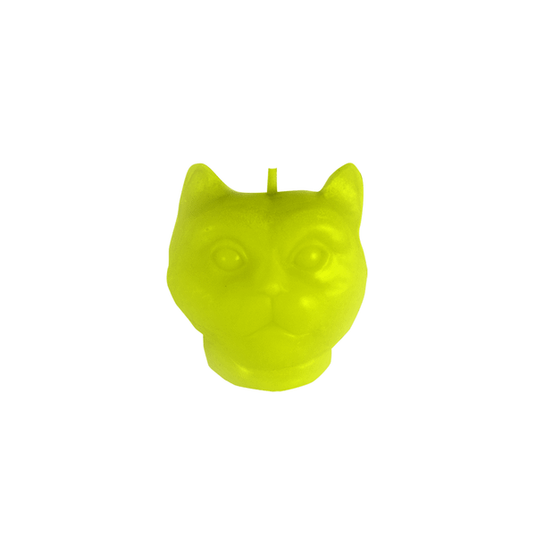 Vela-Decorativa-Mini-Cat-Verde-Sin-Aroma