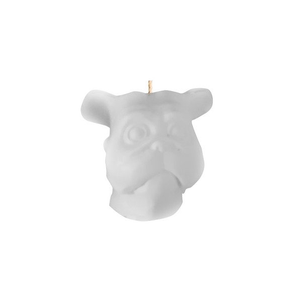 Vela-Decorativa-Mini-Dog-Blanca-Sin-Aroma