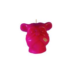 Vela-Decorativa-Mini-Dog-Fucsia-Sin-Aroma