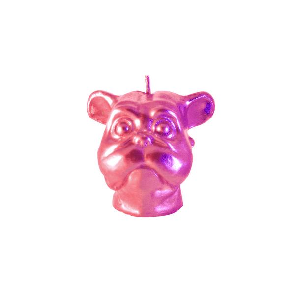 Vela-Decorativa-Mini-Dog-Bronce-Sin-Aroma
