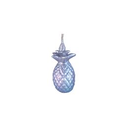 Vela-Decorativa-Mini-Piña-Plata-Sin-Aroma