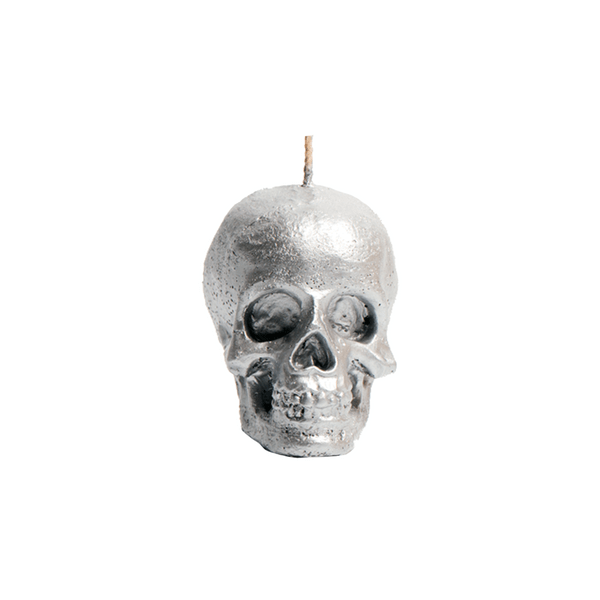 Vela-Decorativa-Mini-Skull-Plata-Sin-Aroma