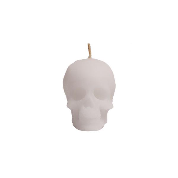 Vela-Decorativa-Mini-Skull-Blanca-Sin-Aroma