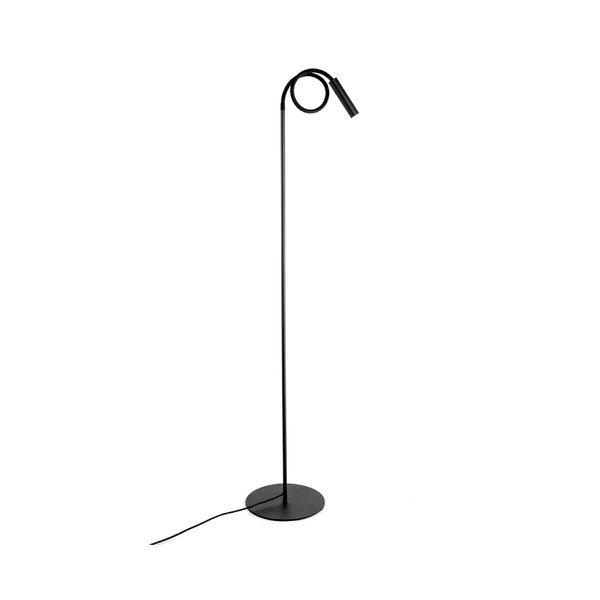 Lampara-De-Piso-Pole-Flex-Negro