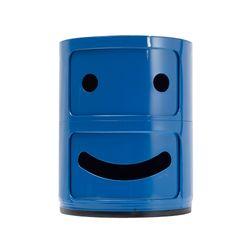 Archivador-Kids-Smily-Face-Azul