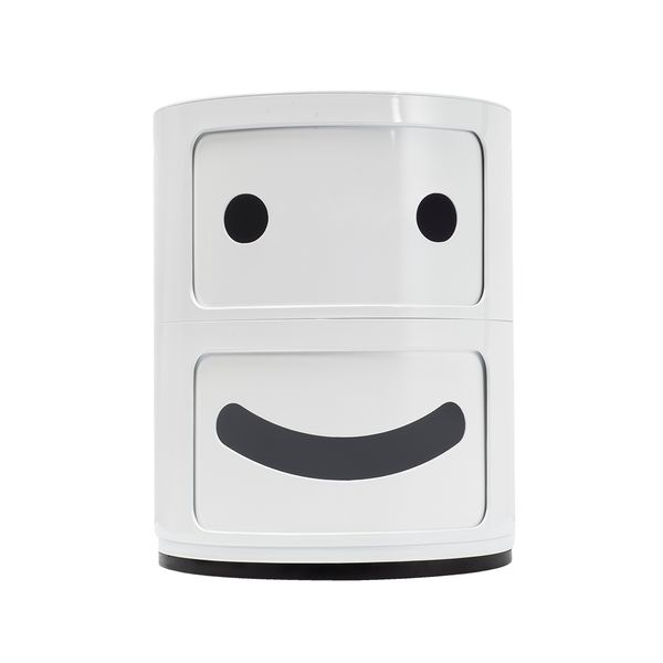 Archivador-Kids-Smily-Face-Blanco