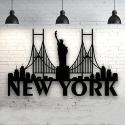 Cuadro-Newyork-90-55Cm-Negro