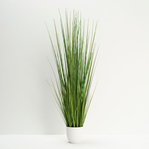 Planta-Artificial-Alta-Isolepis-Grass-100Cm-Blanco