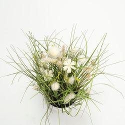 Planta-Artificial-Meadow-Flowers-40Cm-Blanco-Crema