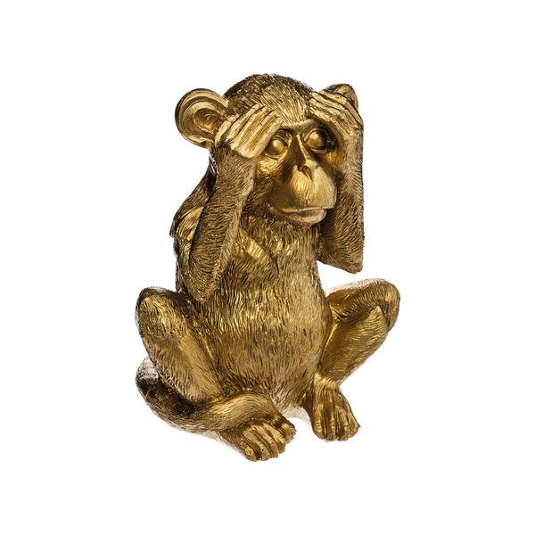 Set-3-Figuras-Monos-No---Say-See-Ear-Dorado